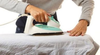 How to Iron Without an Ironing Board